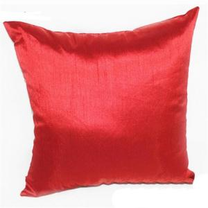 China Couverture rouge en soie faite sur commande de coussin de concepteur de couverture d'oreiller de la couverture 45cm de coussin on sale