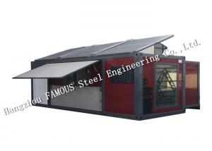 China NZ/AU Standard Salable Mobile Living Tiny Prefab Container House With Customized Decoration Design on sale