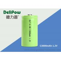 C3000mAh NIMH Rechargeable Battery For Power Tools / Emergency Light
