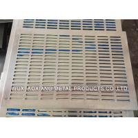 China Decorative PVC Coated Perforated Metal Sheet For Petroleum / Foodstuff on sale