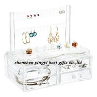 Best selling  Clear Earring & Ring Organizer & Drawers
