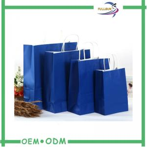 China Professional Customized Kraft Paper Shopping Bag Color Printing on sale