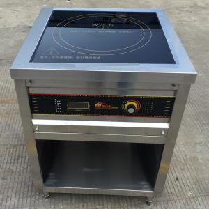 China 9KW Commercial Induction Cooker , Freestanding Induction Hob Rotary Switch on sale