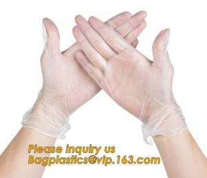 China Medical Exam Use Disposable Powder Free Vinyl Gloves/Non Latex Vinyl Gloves/PVC Gloves,Disposable PVC Gloves Powder Free on sale
