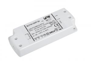 China White 15W Switching Power Supply , 24V / 12V DC Constant Voltage Led Driver on sale