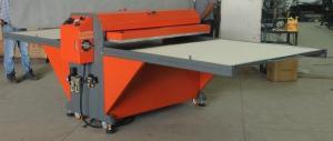 China Large Format Heat Press Printing Machine For Cloth / Garment / T Shirt 60 * 130cm on sale