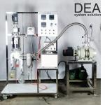 Small Scale Steam Distillation Equipment High Ratio 2000-6000 Ml / H Feed Amount