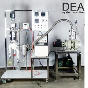 China Small Scale Steam Distillation Equipment High Ratio 2000-6000 Ml / H Feed Amount on sale