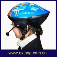China Bluetooth Helmet Headset for Bicycle with intercom 500meters(OX-BH9084) on sale