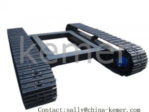 China Steel Track Undercarriage and track chassis for transport in construction site on sale