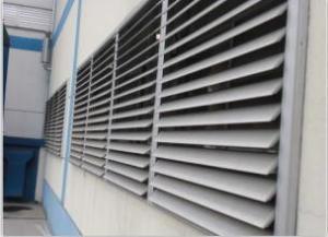 China Aluminum alloy hollow shutter doors and Windows Aluminium louver casement windows,aluminum shutter casement window on sale