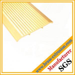 China copper alloy floor Non slip Tread Inserts profiles supplier