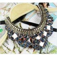 TP-N1 Jewelry Rhinestone Bead statement necklace Jewelry Necklace for Costume
