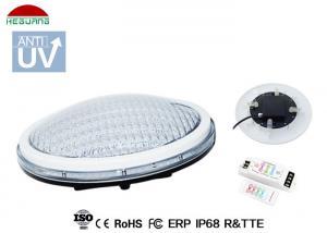 China ABS Thin PAR56 RGB LED Pool Light 6 Meter Lighting Length For Garden on sale