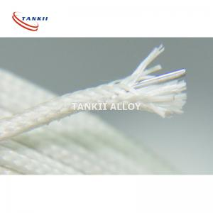 China Heating Resistance Fiberglass Nichrome Wire / High Strength Fiberglass Insulated Cable on sale