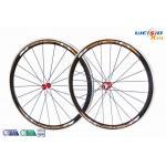 "China Road Bike 700c 38mm Aluminum Bicycle Wheels AA6063 T5 Customized Size 12"" to 22"" wholesale"