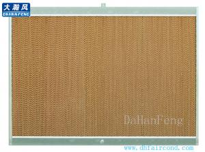 China air conditioner/Evaporate cooling pad/evaporate air cooler cooling pad with aluminum frame on sale