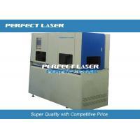20W Solar Cell Fiber Laser Cutting Machine , Laser Scribing Machine Full Automatically