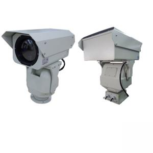 China 20km Long Range Thermal Camera , Vox Sensor Infrared Ptz Security Camera on sale