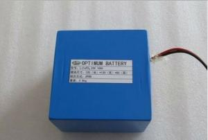 China Electric Bike Lithium Batteries pack 24V 10Ah with PCB, covered by PVC film for EV-car on sale