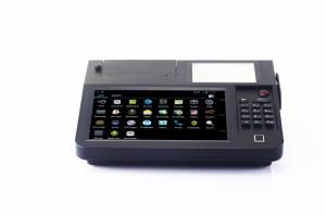 China High Security Smart POS Terminal Pos System Android 4.2 With Keyboards on sale