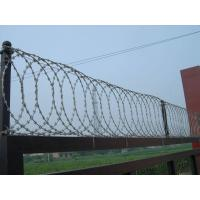 Flat Wrap Coil Customized Razor Wire BTO-18 Hot Dipped Galvanized