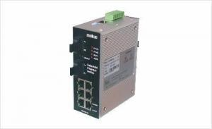 China Unmanaged 8-port Industrial Ethernet Redundant Switch on sale