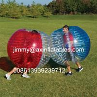 adult outdoor inflatable ball games,popular inflatable bumper ball,bubble soccer for sale