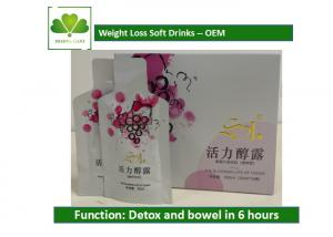 China Anti Aging Natural Detox Drinks Detox And Slimming Fruit Juice Resveratrol Soft Drinks on sale