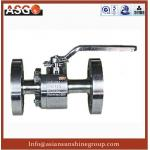 China A182 F316 Stainless Steel Hard Seal Floating Ball Valve- Ball Valve-Valve-ASG wholesale