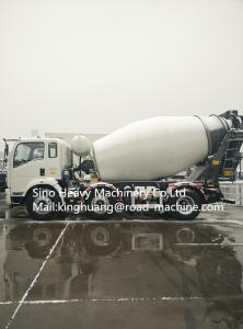 China 6x4 Light Duty Commercial Trucks Concrete Mixer Truck Diesel Fuel on sale