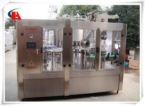 China High Precision Automatic Bottle Washing Filling And Capping Machine 7.5KW Power on sale