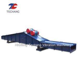 China Self Synchronous Inertia Motor Vibration Feeder For Stone / Garbage Transport on sale