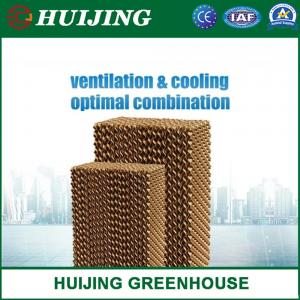 China Evaporative Cooling Pad/Cooling System Black Color Cooling Pad/Wet Curtain Used for Greenhouse/Poultry Farm on sale