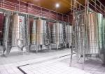 5000L Commercial wine making equipment for micro winery stainless steel material