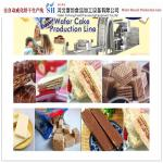 Wafer Production Line Wafer Biscuit Making Machine Machinery from China