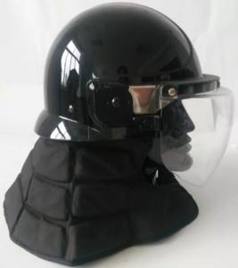 China Korea  Model  Anti Riot Tactical Helmet with long neck protector on sale