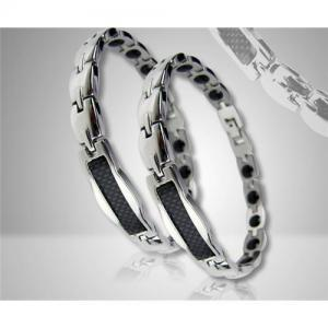 China wholesaleTitanium germanium Bracelet,magnetic health titanium bracelet,magnetic bracelet on sale