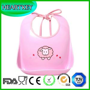 China Cute Kids Apron Eco-Friendly Silicone baby bibs on sale