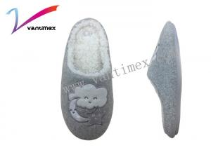 China Moon Clouds Cotton Ladies Mule Slippers Lovely Women'S Thick Soles For Home on sale