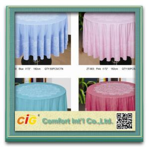 China Perfect Quality China Wholesale PVC Table Cloths in Rolls on sale