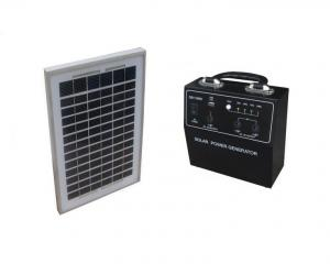 China Eco - Friendly Small Home Solar Power System High Efficiency With USB Mobile Charger on sale