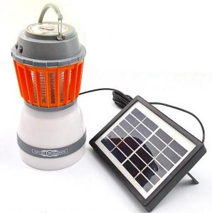 China Solar Indoor Outdoor Mosquito Killer Lamp with Flashlight Solar Emergency Lights Solar Pest Killer Lights Fishing Lights on sale