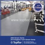 ウェイトトーレーニング ルームの体育館のフロアーリングに床を張る連結のゴム製体育館