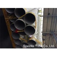 China Not Annealed brushed stainless steel tube EN 10217 7 Corrosion Resistance on sale