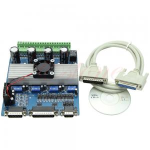 China Stepper Motor Driver TB6560 4 axis Controller Board for CNC Engraving Machine 0-10V on sale