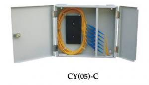 China Outdoor Compact Fiber Optic Terminal Box 24 Cores With SC / FC Port on sale