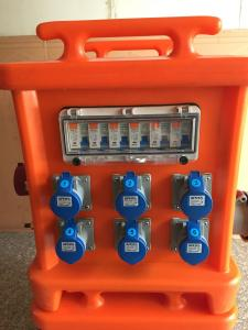 China Movable Portable Power Distribution Box?, Plastic 3 Phase Distribution Box on sale