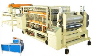 China Glazed Plastic Roofing Tiles Extrusion Line , PVC Tile Making Machine on sale