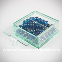 Customized clear plexiglass storage box hot selling acrylic candy  display box